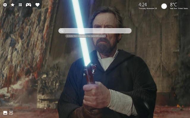 Star Wars Episode Ix Hd Wallpaper New Tab