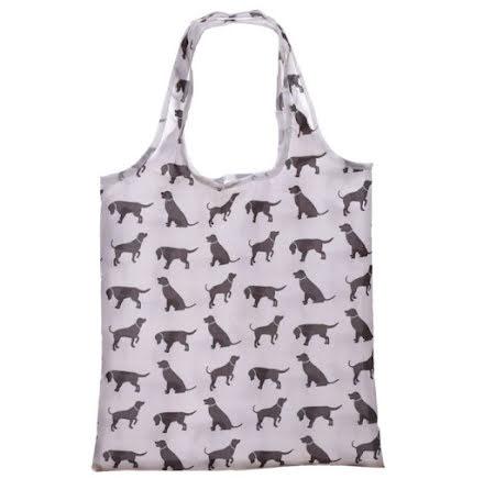 Shopping bag dog
