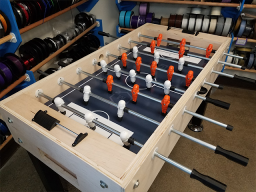 How To Build a 3D Printed Foosball Table | MatterHackers