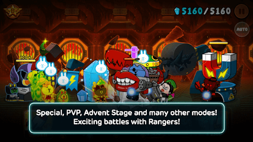 LINE Rangers - simple rules, exciting RPG battles! astuce APK MOD capture d'écran 1