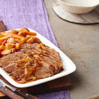 Slow-Cooker Barbecue Beef Brisket