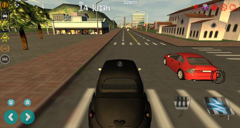 Скриншот Limousine City Driving 3D