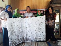 Batik tulis khas kabupaten Ngawi Jatim