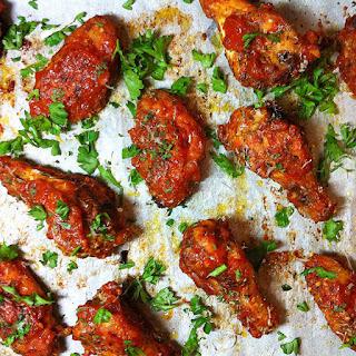 Marinara Chicken wings.