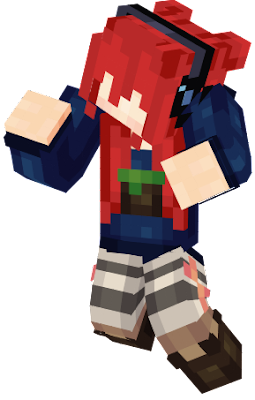 Just a skin for a future Face Rig project in which I might do for my wallpapers with Mine-Imator. ^^