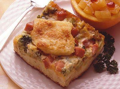 Ham And Broccoli Strata Recipe