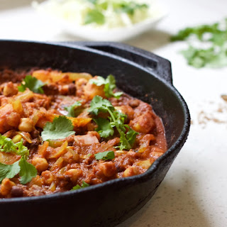 Chunky Chickpea Curry.