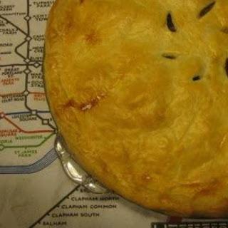 Savory Sausage And Potato Pie.