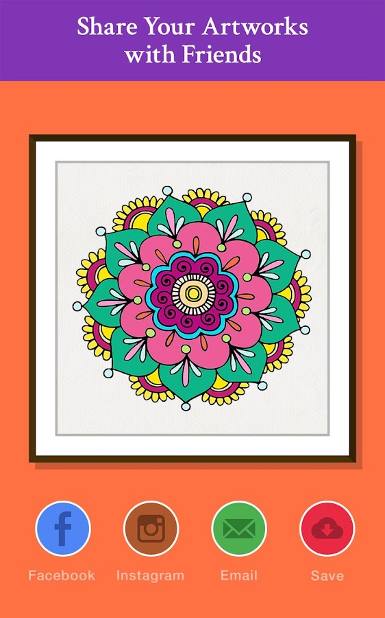 Pattern Design Coloring Book Screenshot