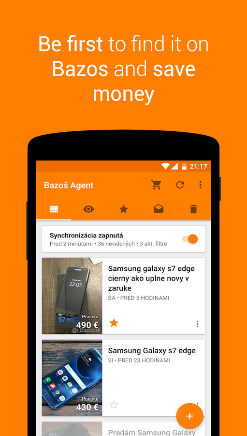 Bazar Agent- screenshot