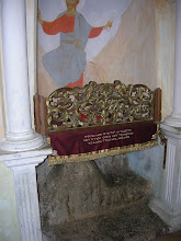 Photo: the rock which Christ sat upon in the wilderness