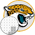 American Football Logo Color By Number - Pixel Art icon