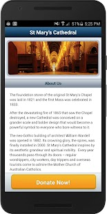 St Mary's Cathedral Appeal- screenshot thumbnail