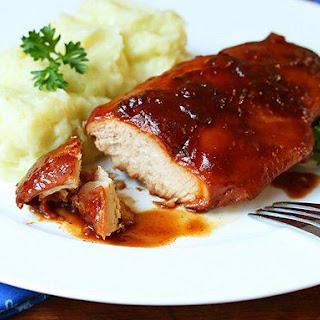 Slow-Cooker Cranberry Glazed Chicken