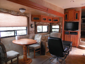 Photo: 32' Durango 5th Wheel Rental - Sleeps up to 6  Rates are $600/mo, $200.00/week, $40.00/day Rates are based on 2 adults and 2 kids, 1 vehicle. Extra charge for additional people  -One bedroom with queen bed -One sofa (folds out) - Full sized shower - Kitchen with microwave,  stove/oven & refrigerator -Dish satellite TV - No smoking - No Pets