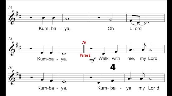 Kumbaya: for choir – Programme op Google Play