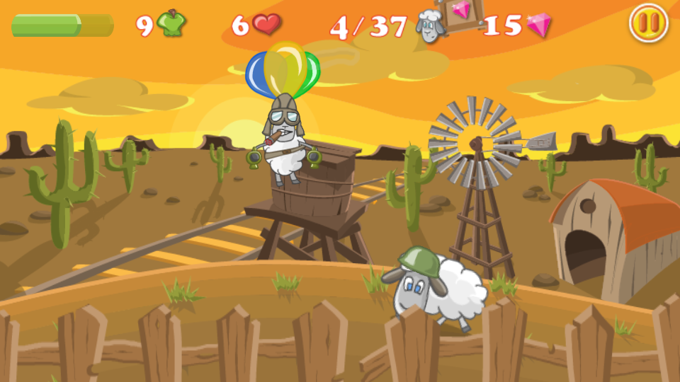 Battle Sheep- screenshot
