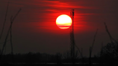 Photo: Zachód nad Wieliszewem