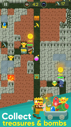 Dig Bombers: PvP multiplayer digging fight 3.3.3 screenshots 10