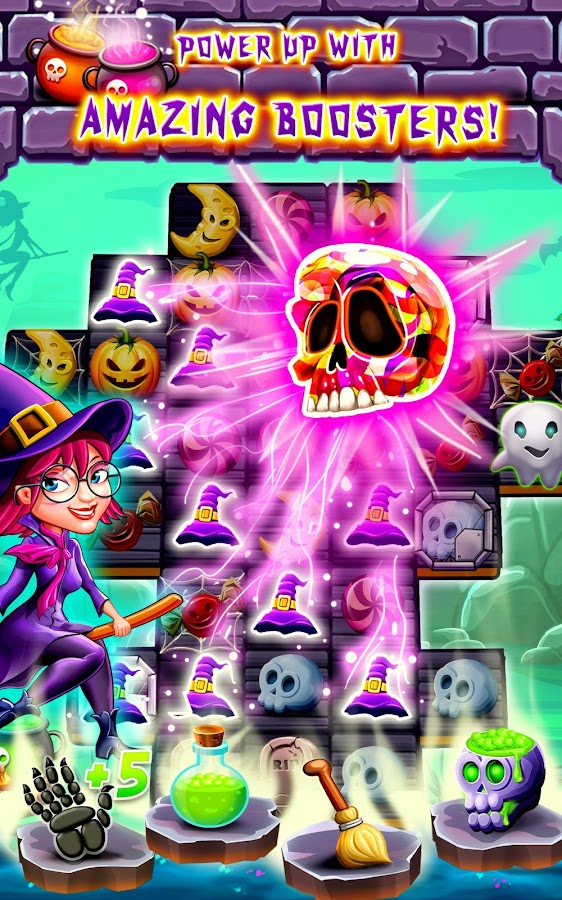 Witchdom - Candy Match 3- screenshot