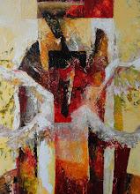 Photo: Андрей Цуп, «Дедал. Падіння Ікара», холст, масло, 60х80см