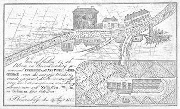 Photo: 1848 Kwekerij Van Poppel aan de Steenweg.