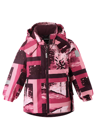 Reimatec Maunu 521617B-4651 Raspberry Pink vinterjakke