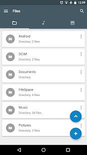 File Manager FS: Storage space- screenshot thumbnail