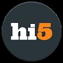 hi5 - meet, chat & flirt icon
