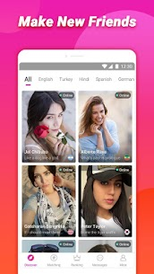 TopU: Let's enjoy video chat online App Download For Android 3