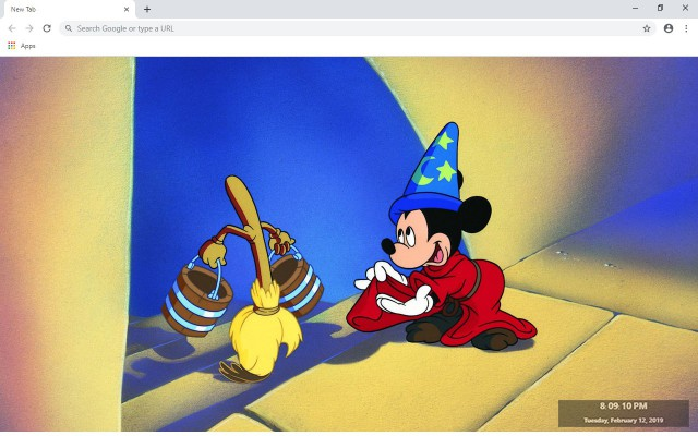 Mickey Mouse New Tab & Wallpapers Collection