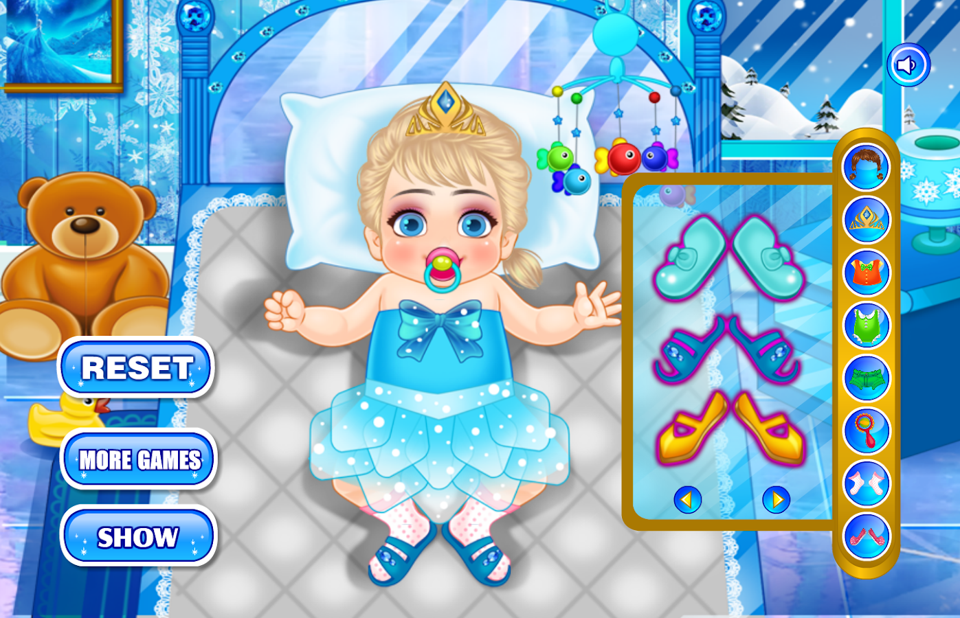 Baby Frozen Care- screenshot