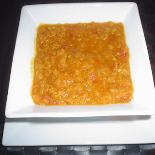 LowFat Spicy Red Lentil Soup
