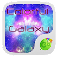 Colorful Galaxy Keyboard Theme 1.85.5.82 icon