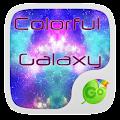 Colorful Galaxy Keyboard Theme 1.85.5.82 icon
