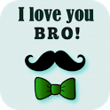 Love You Brother Card icon