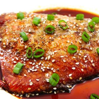 Honey Sriracha Glazed Salmon