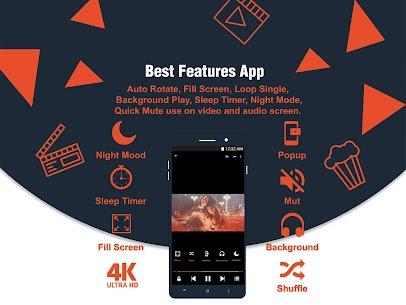 4K Video Player – Full HD Video Player – 4K Ultra Mod 1.0.3 Apk [Ad Free/Unlocked] 2