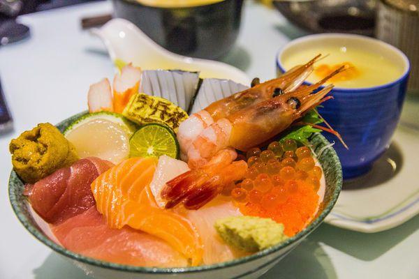 宇兵衛 鮨《uhee sushi》| 海鮮丼飯平日限定供應中