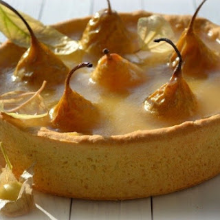 Pie «Pears in the crystal.»