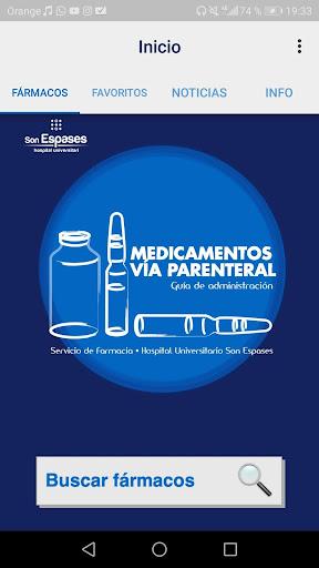 Medicamentos vu00eda parenteral 3.0 Screenshots 1