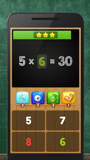 Multiplication Table Kids Math Screenshot