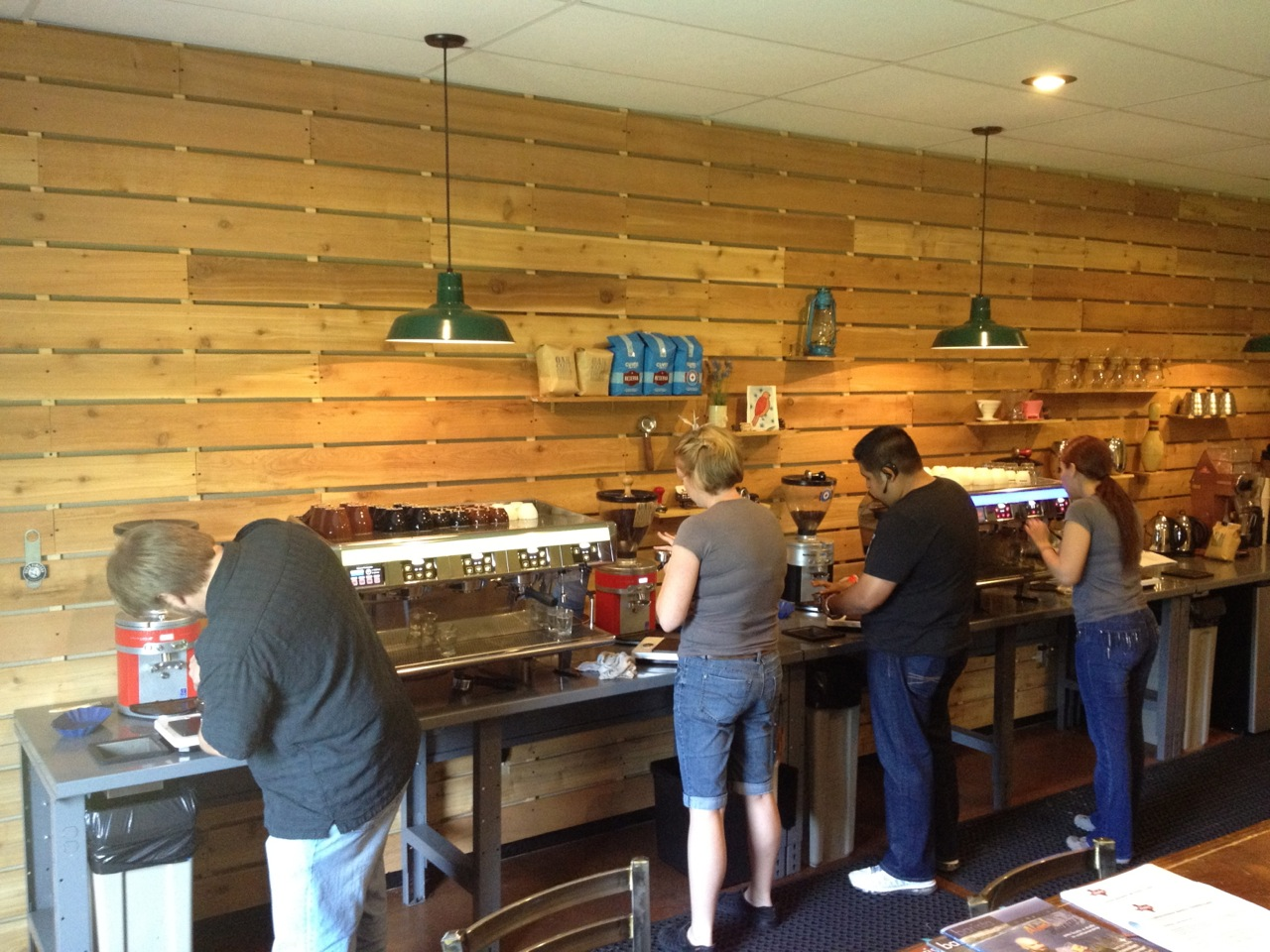 Photo: 3-Day Coffee Business and Barista Training Class at Texas Coffee School