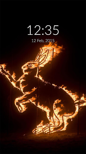 Rabbit In Fire Wall Lock