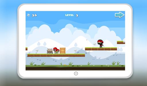 Ninja Go Kid Dash screenshot 0