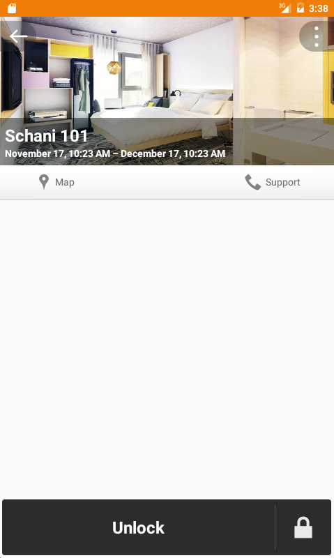 Schani Mobile Key – Screenshot