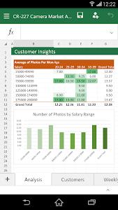 Microsoft Excel v16.0.4027.1006