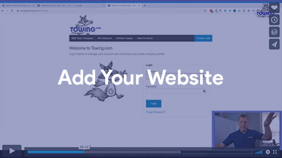 add your website