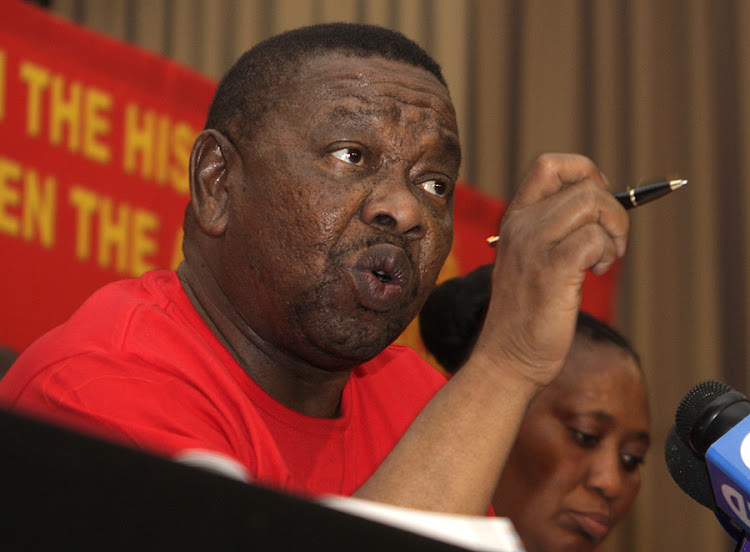 South African Communist Party general secretary Blade Nzimande. Picture: PUXLEY MAKGATHO