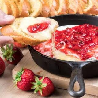 Strawberry Jalapeno Brie.